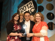 Presenting to the Military Wives at the Tric Awards -  13 March 2012
