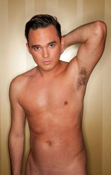 Gareth Gates naked photoshoot
